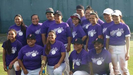 Bottomed Out  won the first championship in the Guam Women's Baseball League.