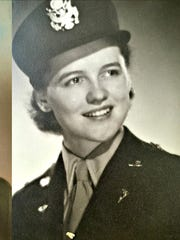 John Neu, left, and Lois Neu, in their Army dress uniforms during World War II. John served as a pilot. Lois served as a nurse. John Neu died in 2018 at 102. Lois Neu is 98 and lives in Des Moines.