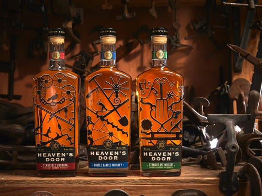 Heaven's Door debuted its first three whiskeys with