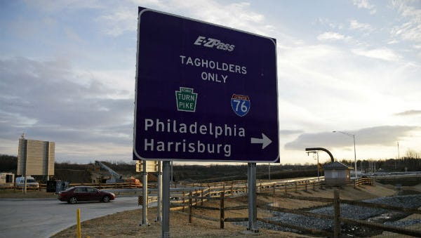The Pennsylvania Turnpike is increasing its speed limit in some areas.