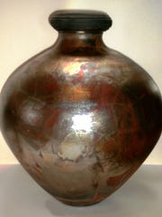 Pottery by John Bintz is among the art that will be available during a benefit auction this weekend in downtown Farmington.