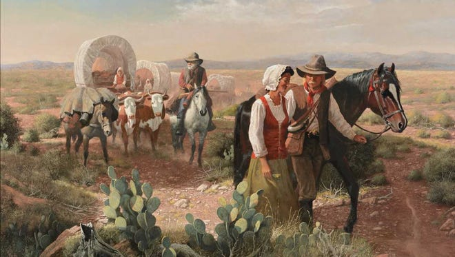"An opening reception for ""Jacob Pfeiffer: My Long Journey,"" is from 5 to 7 p.m. on Aug. 16 at the New Mexico Farm & Ranch Heritage Museum. His work will show in the museum corridor through Dec. 2."