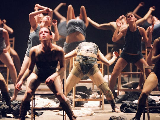 """Anaphaza"" is one of many dances created by Ohad Naharin that are featured in the documentary ""Mr. Gaga."""