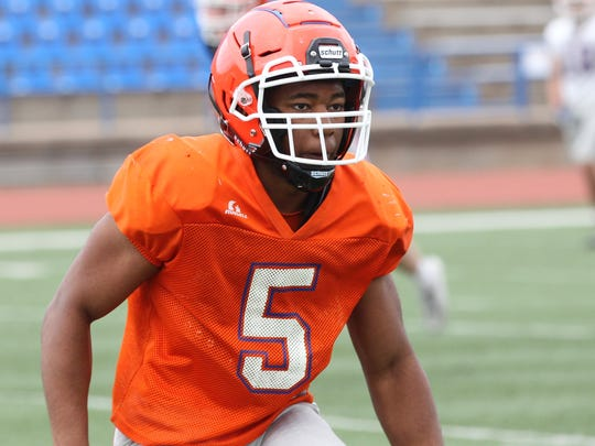 San Angelo Central High School senior linebacker Daylon