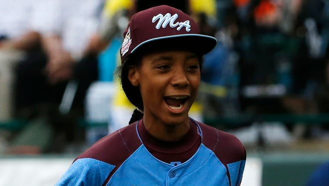 Mo'ne Davis has emerged as a star at the Little League World Series, which has made her autograph and other merchandise in high demand.