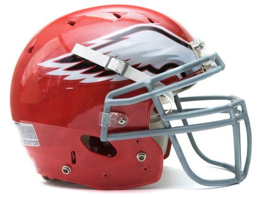 Bermudian Springs football helmet