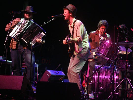 The Felice Brothers at The Grand in Wilmington in 2007 opening for Bright Eyes.