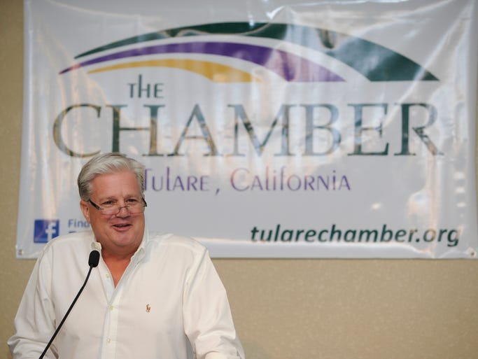 Tulare Chamber of Commerce 2014 Salute to Dairy Luncheon on Saturday at the Heritage Complex in Tulare. Senator Andy Vidak was the featured speaker.