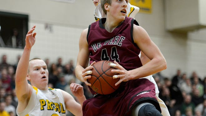 De Pere standout Brevin Pritzl averaged 20.9 points per game and shot 37.0 percent from 3-point range as junior.