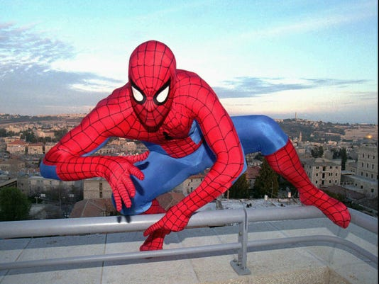 SPIDERMAN IN JERUSALEM