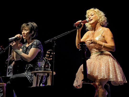 Times Record News File PhotoPam Tillis (left) and