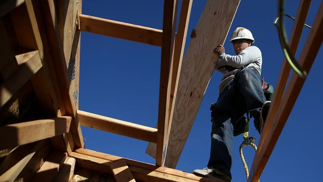 An improving housing market is expected to fuel small-business hiring this year.