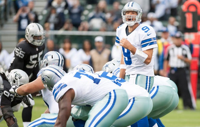 Waiting to draft a quarterback can be a good strategy. Quality passers such as Tony Romo will likely still be available in the later rounds.