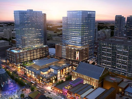 The Fifth + Broadway project is planned for a prominent