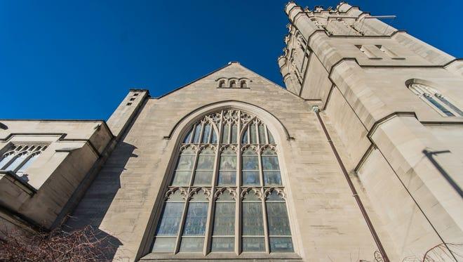 Reid Memorial Presbyterian Church, 1004 N. A St., Richmond, is seen Wednesday, Nov. 28, 2017.