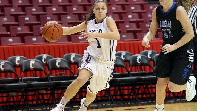 Glen Este's Jenna Simon is a returning first-team all-conference selection and has been one of the team's veteran leaders.