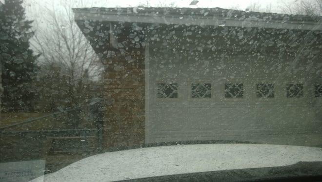 Dirty rain falls in Spokane