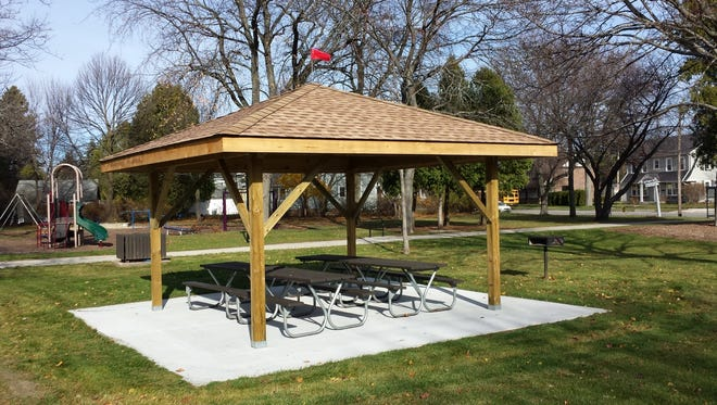 Boy Scout from Troop 804 member Andrew Suscha recently completed his Eagle Scout project at Cole Park in Sheboygan.