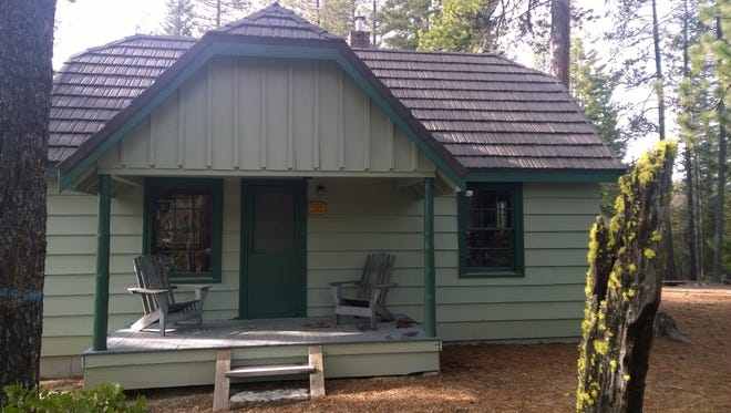 The historic Crescent Lake Guard Station, near Willamette Pass, could become a rental for the public.