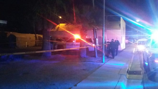 A man was found shot and killed Saturday outside a residence near downtown Chandler.