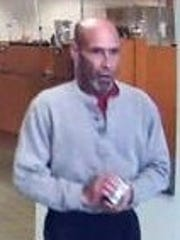 Police are searching for this man, who is accused of