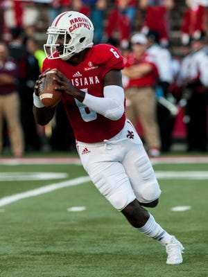 UL quarterback Jalen Nixon (6) has now established himself as the Cajuns' starting quarterback.