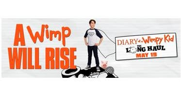 Diary of a Wimpy Kid:  The Long Haul.