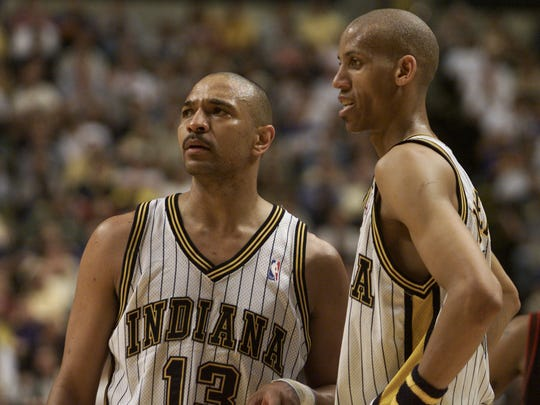 Mark Jackson and Reggie Miller provided the Pacers with an impressive 1-2 backcourt punch.