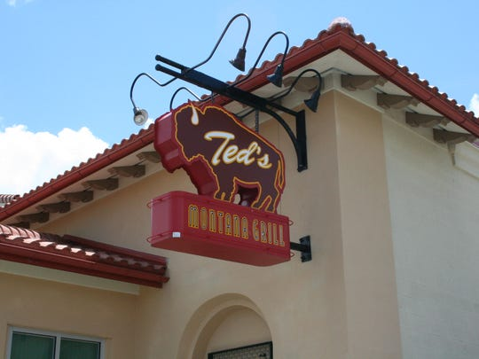 Ted's Montana Grill in the Coconut Point Mall in Estero is a classic American grill featuring fresh, made-from-scratch comfort food within an authentic turn-of-the-century Montana grill atmosphere. No freezer. No microwaves. No boil-in-the-bag. They only use all-natural beef, bison and chicken. To support the environment only recyclable paper menus, paper straws and reusable glass is used. American favorites include steaks, meatloaf, pecan-crusted trout, cedar plank salmon, burgers, and chicken grills. Daily blue-plate specials, fresh-cut fries, soups and an array of salads and desserts round out the menu.