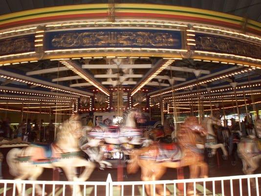 Floyd Moreland Carousel, Seaside Heights