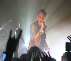 Panic! at the Disco performed two new songs at a surprise show at the Rave's basement bar Sunday slated to appear on the band's forthcoming album in June.