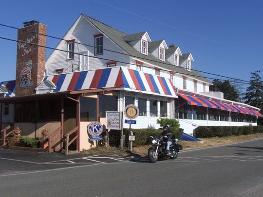 The Captain's Inn in Forked River can be reached by