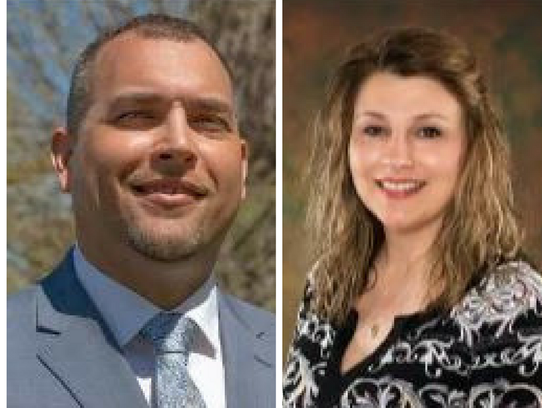 Jeremy A. Garza and Tina Houghton (incumbent) are running