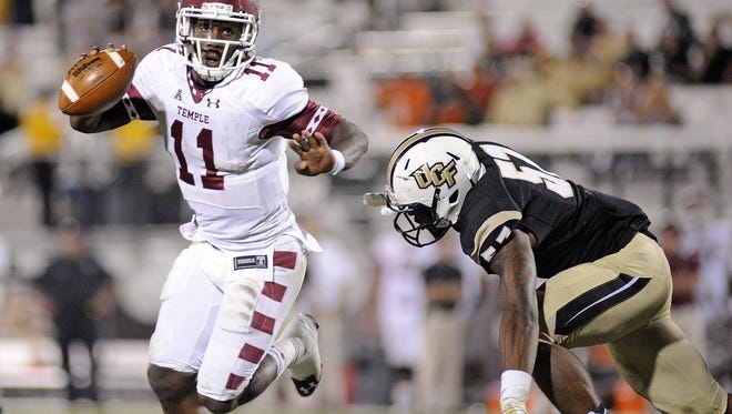 Temple plays UCF on Oct. 17.