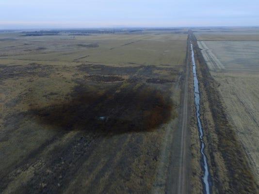 APTOPIX Keystone Pipeline Leak