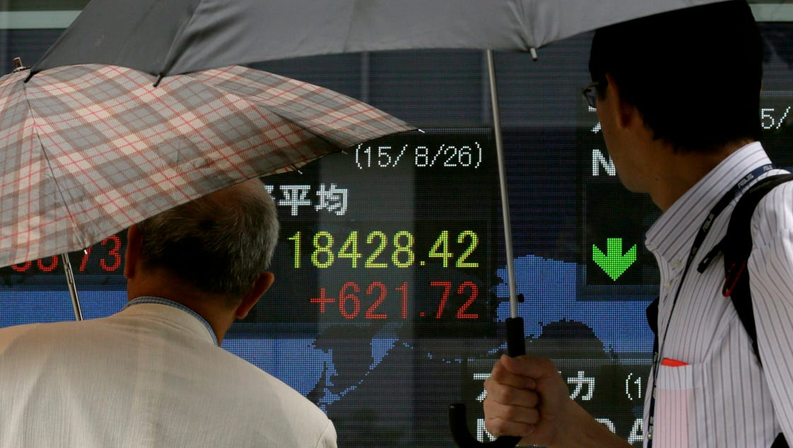 World markets stage mixed comeback