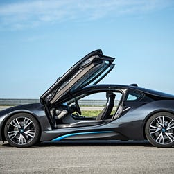 BMW i8 is stunning, expensive and a ridiculous delight to drive. It's a low-volume model, so get in line.