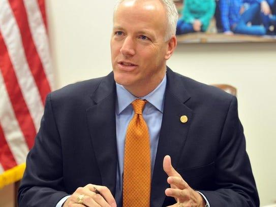 District 69 Rep. James Frank, R-Wichita Falls, recently