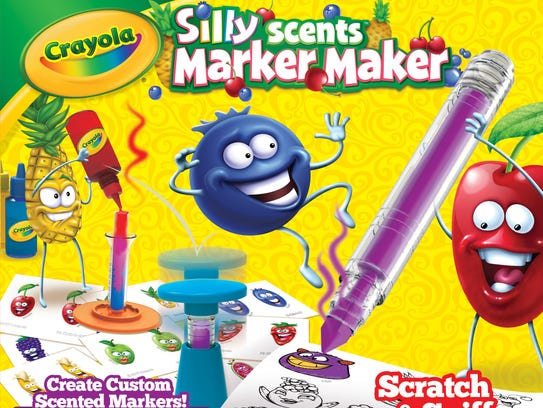Crayola Silly Scents Marker Maker Ages 6 and older
