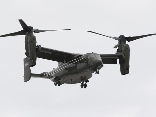 Marines Aircraft Mishap