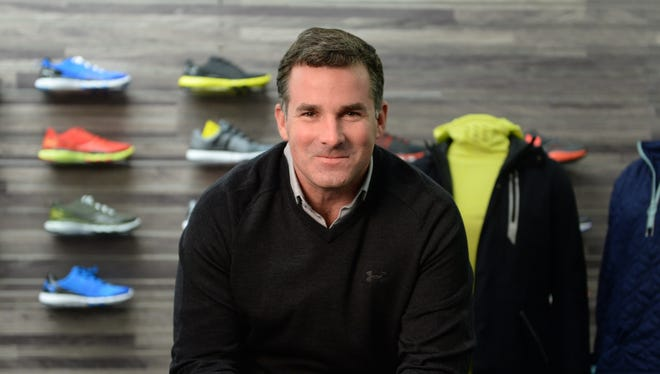 12. Kevin Plank, founder and CEO of Under Armour