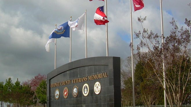 A Veterans Day program is scheduled for Nov. 11 in Oconee County.
