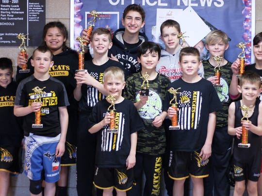 The South Lyon Matcats are ahead to the NEMWA finals Saturday in Petoskey.