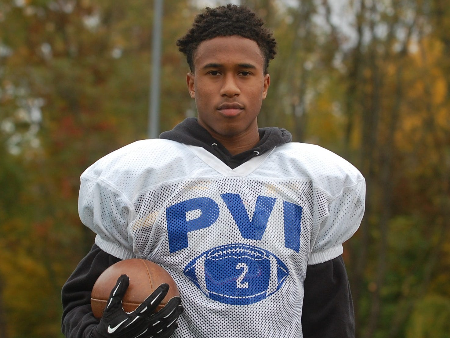 Lonnie Moore is the leading receiver for Paul VI with 25 catches for 444 yards and five TDs.