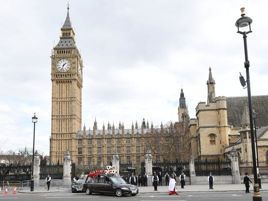 EPA EPASELECT BRITAIN WESTMINSTER TERROR ATTACK PC KEITH FLETCHER FU WAR ACTS OF TERROR GBR