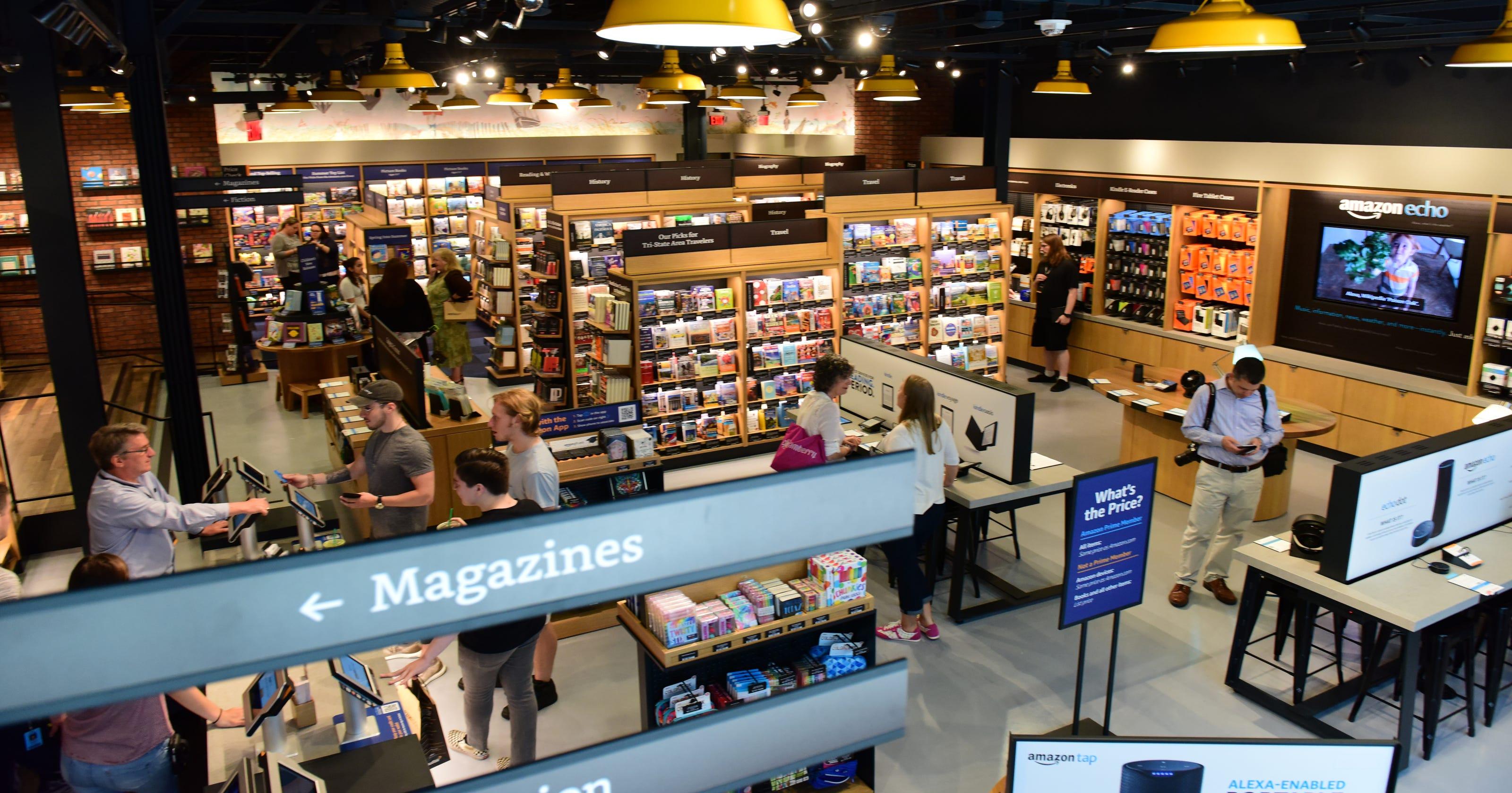 Amazon to end its pop-up kiosks program, includes 5 NJ locations