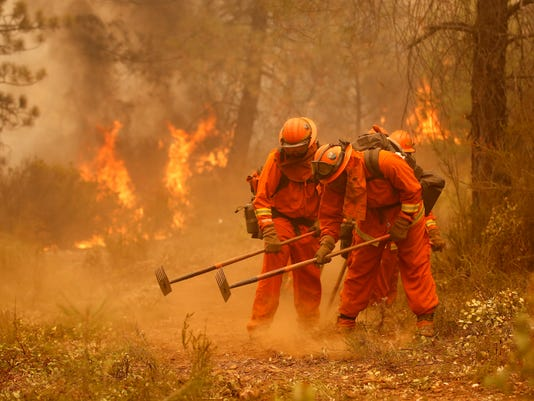 California Firefighting Inmates