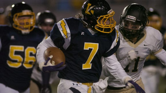 Lucas Reynolds returns for Littlestown, which made it to the District 3 Class AA final last season against Berks Catholic. (GAMETIMEPA.COM -- FILE)