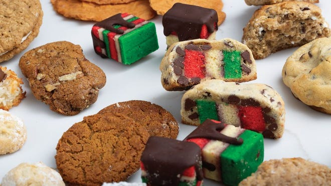 A variety of cookies from Central Ohio bakeries