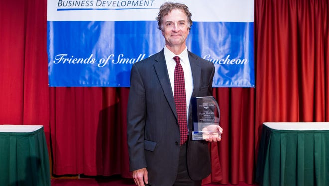Investors Community Bank vice president of business banking Mark Maurer was recently honored by Wisconsin Business Development